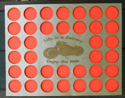 Poker Chip Display Frame For Harley Davidson/casino Life 01 Personalized