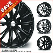 22 Rv128 Alloy Wheels + Tyres To Fit - Range Rover / Sport / Discovery