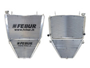 Febur Yamaha Yzf-r1 15/19 Complete Racing Water And Oil Radiator With Silicon