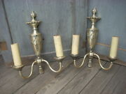 Antique Wall Sconce Lamp Light Fixture The Mitchell Vance Co Architectural Pair