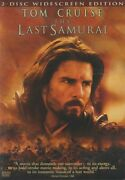 The Last Samurai 2 Dvds 2003 Movie - Us Army Officer In 19th Century Japan