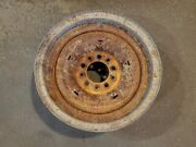 15x6 Original Early 1950and039s Thru 1960and039s Buick Steel Wheel 5 X 5 - Slight Wobble