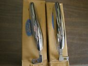 Nos Oem Ford 1967 1968 Mustang Front Bumper Guards Chrome