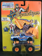 Equalizer Monster Truck Wars With Figure On Card Super Chargers 1993 Matchbox