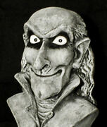 Haunted Creepy Bust Statueeyes Follow You Halloween Mansion Gothic Prop