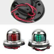 1 Pair Led Navigation Light Boat Signal Light Anti-rust For Small Boat Yacht Sh