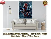 The Amazing Spiderman Large Poster Art Print Gift A0 A1 A2 A3 A4 Maxi