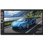 Car Stereo 7 Touch Screen Radio Mp5 Player Audio In-dash Aux Bt Usb Double Din