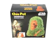 Chewbacca Star Wars Chia Pet Planter Pottery With Seeds New Green Hair Beard