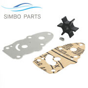 Suzuki Dt6 Dt8 Outboard Water Pump Impeller Kit With Plate 17400-98551 6hp 8hp
