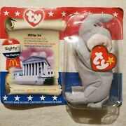 Righty The Elephant Ty Beanie Babyl From Jun 15,1996 Retired With Tag, Unopened