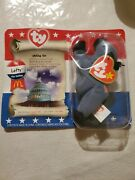 Left The Donkey Ty Beanie Babys From 1996 Retired With Tag. Unopened
