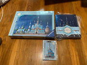 Frozen Castle Puzzle By Ravensburger, Journal And Pin Disney Castle Collection