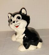 Figaro Hagen Renaker Large Bank Disney Vintage Nice Clean No Issues With Label