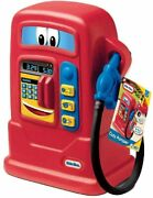 Little Tikes Cozy Pumper Kids Pretend Play Gas Pump Hose Station Made In Usa