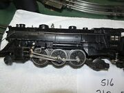 Lionel Poswar 1666 Steam Engine With A 2466w Whistle Tender