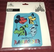Disney Parks Mickey Mouse Pluto Donald Duck Goofy Annual Passholder Magnet