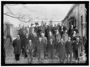 Reproduced 1914 Photo Californians At White House Front Row Secretary Houst P