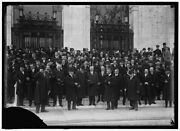 Reproduced 1915 Photo Pan American Scientific Congress Group At Opening Front K