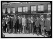 Reproduced 1917 Photo Baltimore Ohio Railway Cabinet Officers Inspecting Saft R