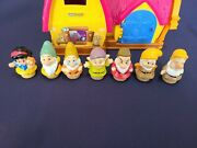 Disney Fisher Price Little People Snow White And The Seven Dwarfs Musical Cottage