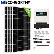 200w 400w 600w 800w Watt Solar Panel Kit Battery Charger For Rv Outdoor Living