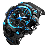 Menand039s Date Quartz Military Shock Digital Tactical Sport Fashion Wrist Watch Us
