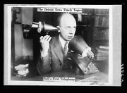 1920 Photo Of The Detroit News Timely Topics Bell's First Telephone J