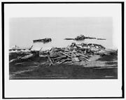 1913 Photo Of Ruines Of Life Saving Station Pointe Aux Barques Mich After Storm