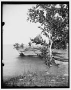 1903 Photo Of A Rocky Point Pointe Aux Barques E