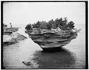 1896 Photo Of The Thumb Nail And Turnip Rock Pointe Aux Barques I