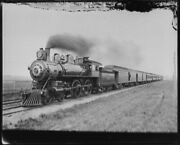 1920 Photo Of Pacific Express Chicago And North Western Ry T