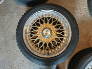 Three Used Wheels And Snow Tires For Year 2005 Bmw 325i