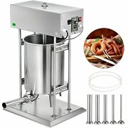 Electric Sausage Maker Sausage Stuffer 20l Meat Filler Machine Stainless Steel