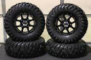 Can Am X3 29 Quadboss Radial And 14 Cobra Blk Atv Tire And Wheel Kit Can10k