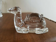 Waterford Crystal The Nativity Collection Camel Figurine