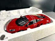 Mint Condition Autoart 1/18 Scale Mclaren Mp4-12c Red Shipping From Japan