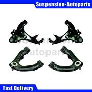 Fits Nissan Frontier 1998 4x Moog Front Upper Lower Control Arm Ball Joint Assy.