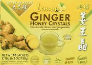 Of Peace Ginger Honey Crystals With Lemon Sachets 10 Ct