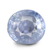 Ceylonese Blue Sapphire 3.11 Ct Unheated Lab Certified Natural Oval Gemstone