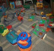 Thomas And Friends Huge Take N Play Lot 12 Playsets 19 Expansion Tracks + More