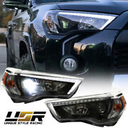 Lexus Style Drl W/ Low Beam Led Projector Headlight For 2014-20 Toyota 4 Runner