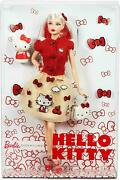 Nrfb Poupandeacutee Doll Barbie Collector Label Signature Hello Kitty 2017 Dwf58