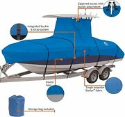Stormpro Heavy Duty Center Console T-top Roof Boat Cover 22-24 Long And 116 Wide