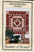 Basket Of Roses Quilt Pattern Wall Hanging Or Table Topper 39 X 39