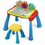 Vtech Touch And Learn Activity Desk Deluxe Frustration Free Packaging Freeship