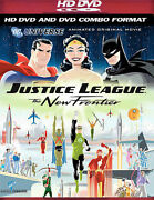 Justice League - The New Frontier Combo Hd Dvd And Standard Dvd Brand New
