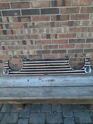 Vintage Used Original Triumph Tr4a Radiator Grill Assembly Part 904120