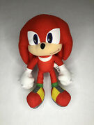 Super Sonic The Hedgehog Knuckles Plush Doll Stuffed Toy 12 Toy Factory