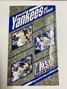 2001 New York Yankees And New York Mets Dual Tv Schedule
